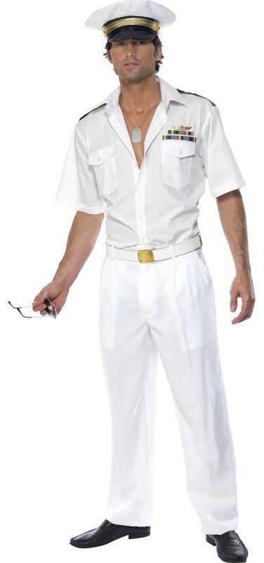 Déguisement capitaine Top Gun™ homme
