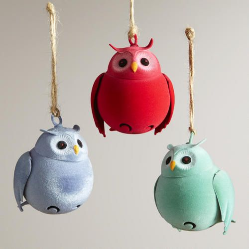 30 best Owl Christmas Tree Ornaments images on Pinterest | Owl ...