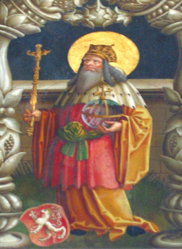 """Memorial-September 28: St. Wenceslaus, the Good King - """"Good King Wenceslaus looked out, on the Feast of Stephen, When the snow lay round about, deep and crisp and even; Brightly shone the moon..."""" ~ a year of prayer: 365 Rosaries"""