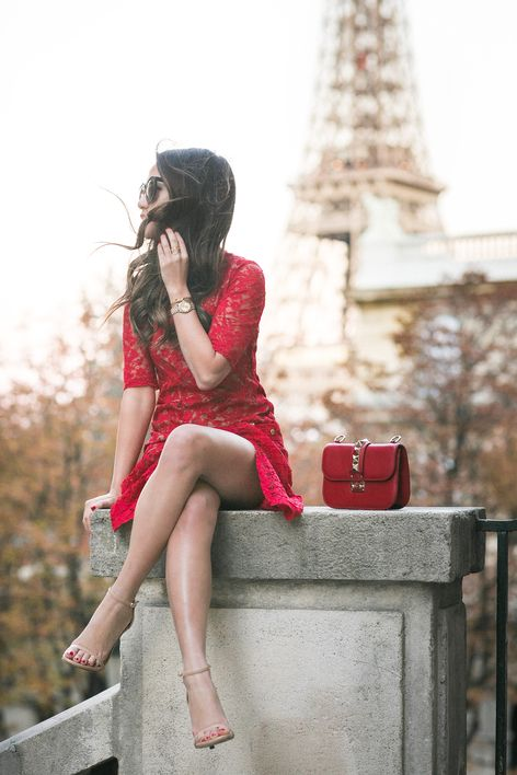 From Paris with Love :: Red lace