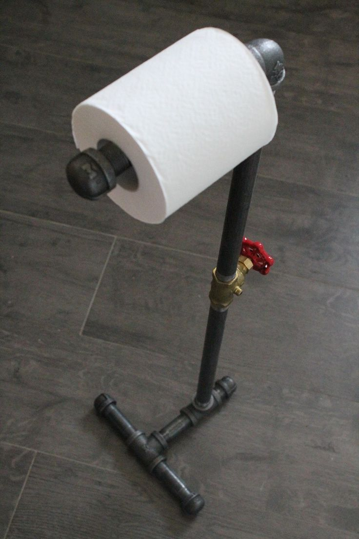 Keep Bathroom And Toiletanized With Free Standing Toilet Paper Holder:  Free Standing Toilet Paper