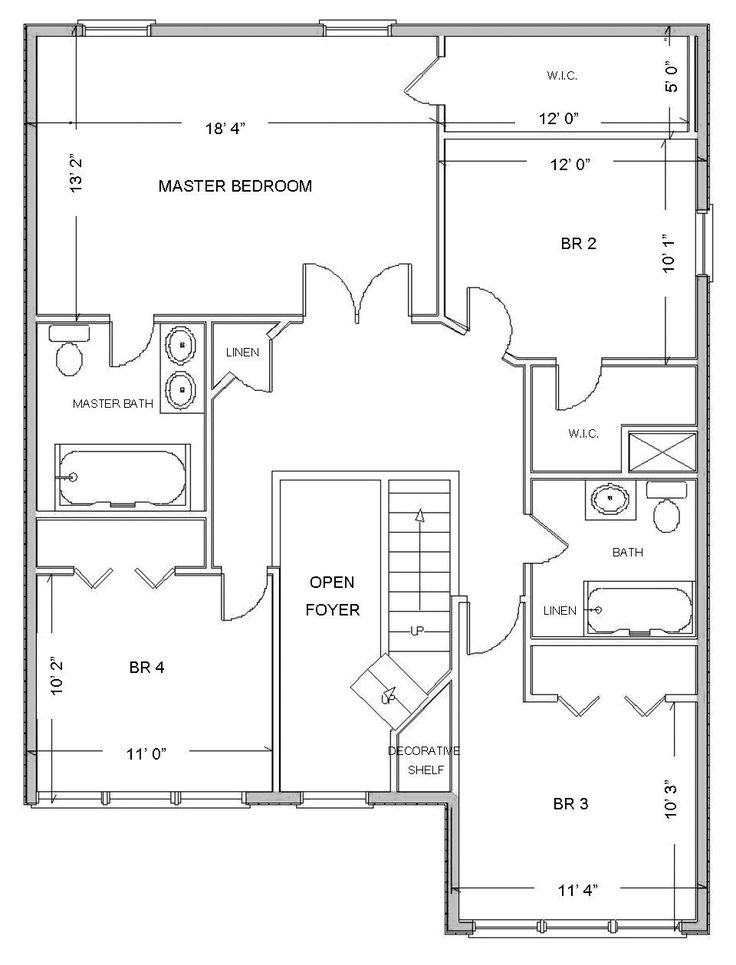 Simple small house floor plans free plan layouts layout - Free room design layout ...