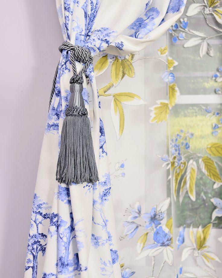 Window Treatments Design Ideas with Sophia curtains.