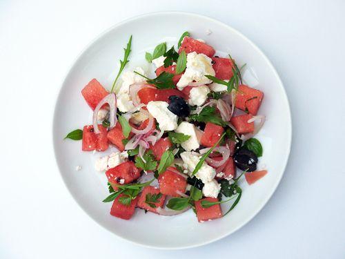 Watermelon and Feta Salad | Summer Lovin', Havin' a Blast | Pinterest