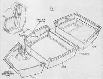 3pc take apart kids boat or tender | fishing boats | Pinterest | Boating, Canoeing and Small ...