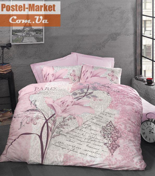 Постельное белье LUOCA PATISCA Ranforce ARTE BELLA розовое Двуспальный евро. Купить в интернет магазине Постель Маркет. ( Киев, Украина )