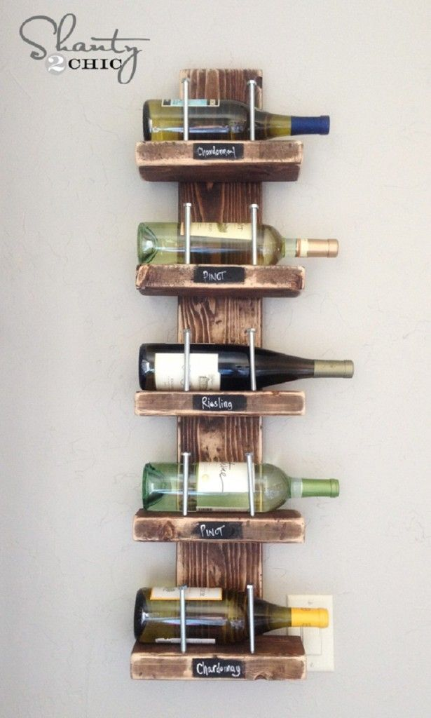 14 Amazing DIY Wine Racks Ideas  We will need so man some racks. I plan to make all 14 of these haha