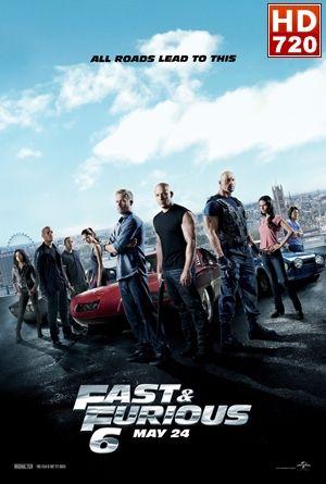 Rapidos y Furiosos 6 (2013)  Desde que Dom (Vin Diesel) y Brian (Paul Walker) destruyeron el imperio de un mafioso y se hicieron con cien millones de dólares, se encuentran en paradero desconocido; no pueden regresar a casa porque la ley los persigue.