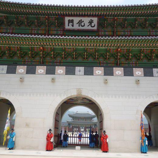 ソウルにある門化光!  焼肉にエステに観光に。本当に韓国大好きです♪