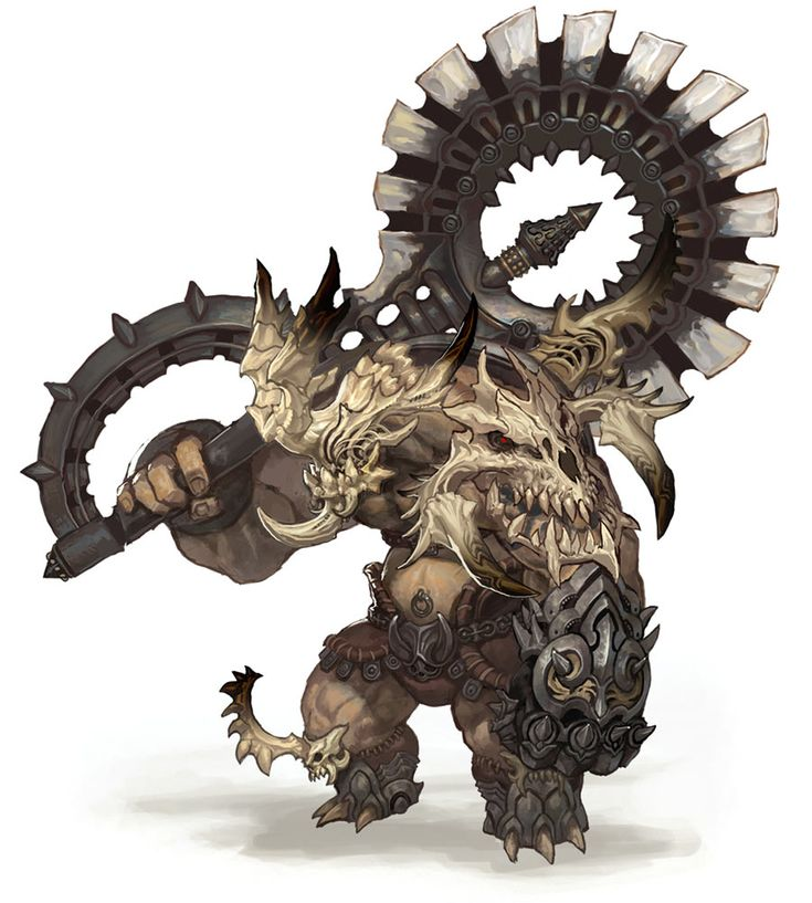 Monster Design from Blade & Soul