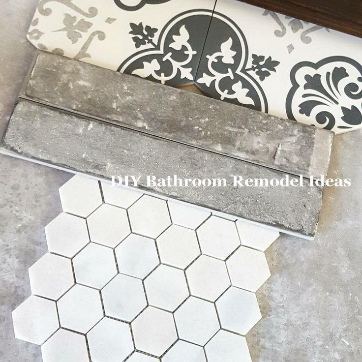 14 Sehr Kreative Bastelideen Furs Badezimmer 2 Badezimmer Bastelideen Bath Patterned Bathroom Tiles Diy Bathroom Remodel Bathroom Floor Tile Patterns