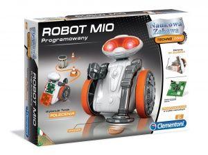 CLEMENTONI PROGRAMOWANY ROBOT MIO WYKONUJE POLECENIA 60255
