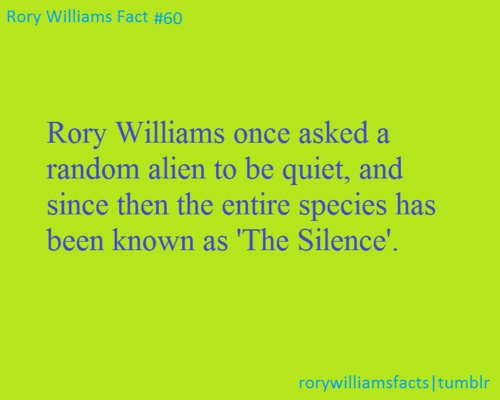 I feel like every time I see this I'm going to have to rejoin it. Just because.. I mean... Rory Williams guys.