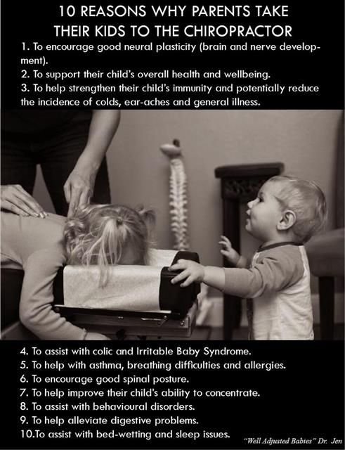 The more research I do into keeping our family well, the more I realize how much more a good chiropractor does than just pop my back!