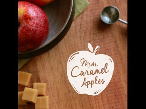 Mini Caramel Apple Pops – Delights – # Apfel # Karamell # Wählbar # Mini # … …   – Make Good Things