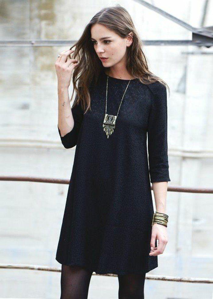 Formidable robe noire chic tenue chic la mode tendances