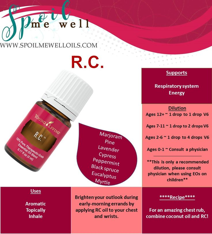 How to use RC essential oil, chest relief, dilution ratio, uses for RC, cold and flu, cough, respiratory, natural remedy, DIY vapor rub, essential oil dilution