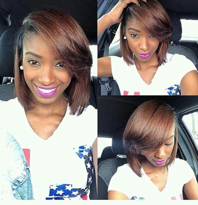 I Love Deep Side Parts Natural Hair Inspiration Hair Hair