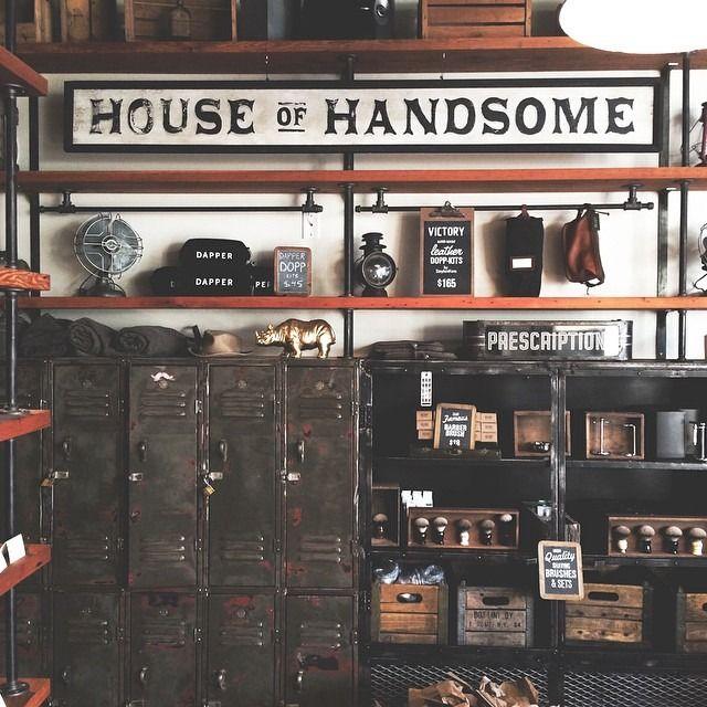 house of handsome barbershop designbarbershop ideasthe - Barbershop Design Ideas