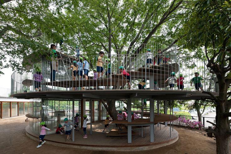 tezuka architects: ring around a tree