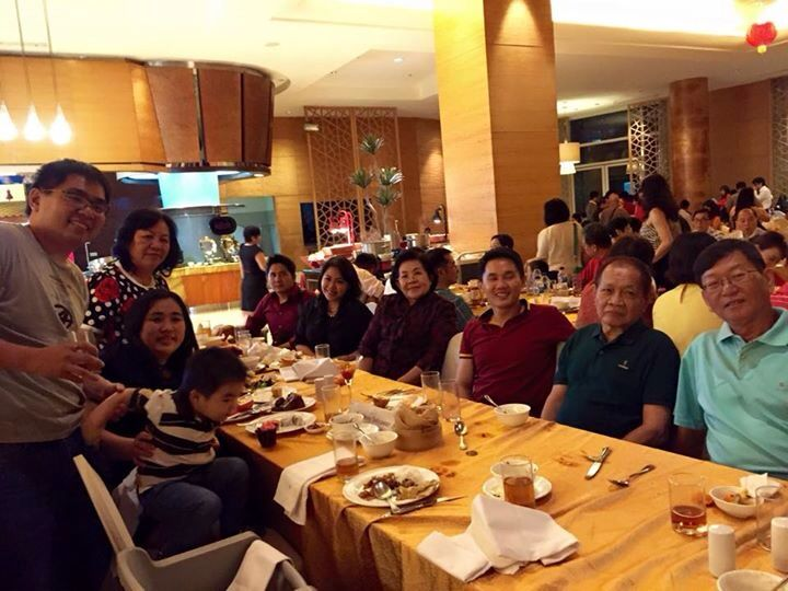 2015 Family Chinesse New Year Night Dinner:)