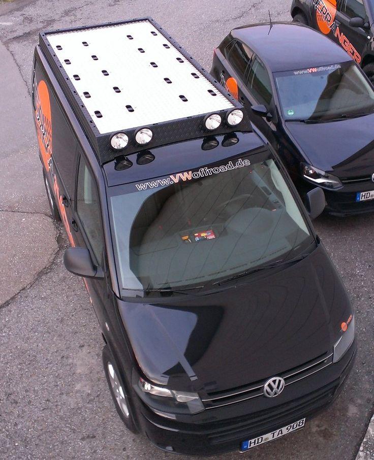 Dachgepäckträger, passend für T5 mit kurzem Radstand