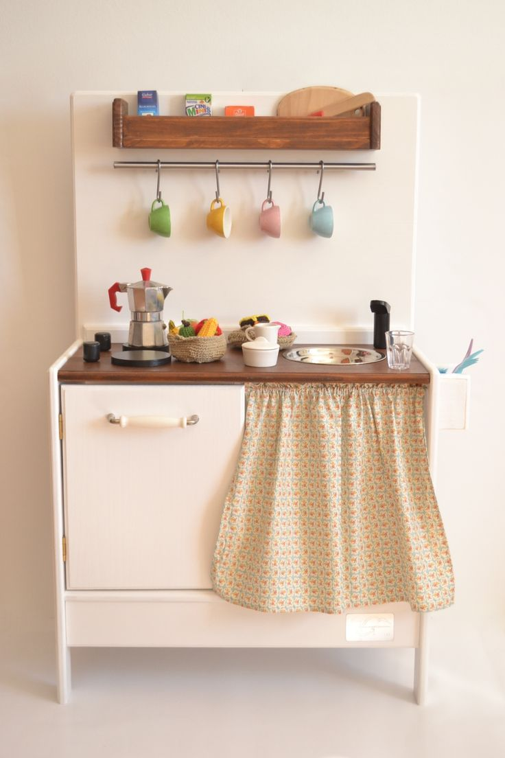 Kids wooden play kitchen   best Fantastically fun play kitchens images on Pinterest  Play