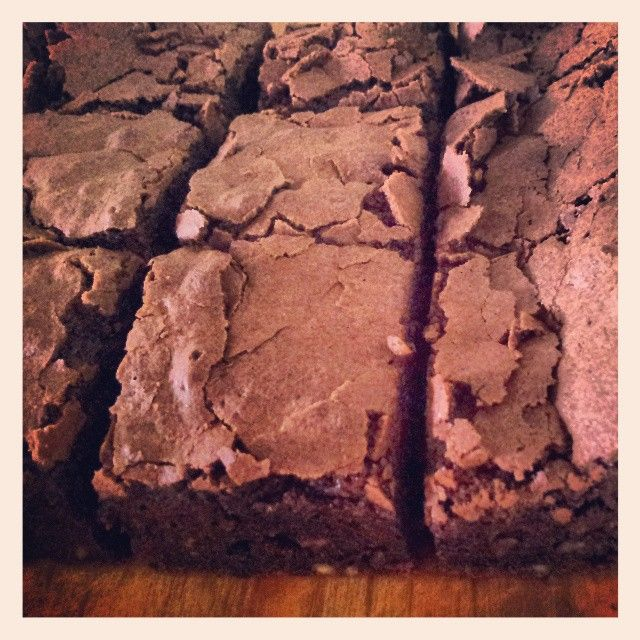 Gluten free choccy brownies