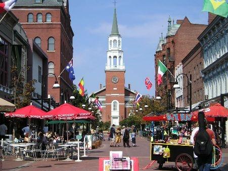 Burlington, Vermont - downtown: Places To Visit, Street Burlington, Favorite Places, Church St., Street Marketplac, Burlington Vt, Vermont Church, Church Street, Burlington Vermont