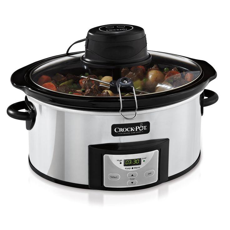 Shop the Crock-Pot® Digital Slow Cooker with iStir™ Self Stirring System at Crock-Pot.com. If It Doesn't Say Crock-Pot®, It's Not The Original.