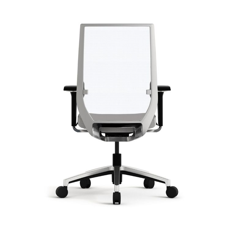 Eben Task Chair is an ergonomic office seating solution available with either mesh or upholstered backrest.