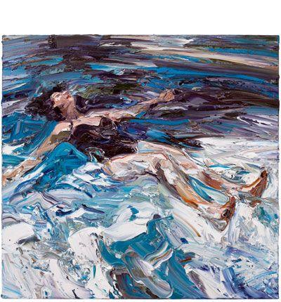 How deep is the ocean, how high is the sky? - Nicholas Harding 2012 Oil on belgian linen
