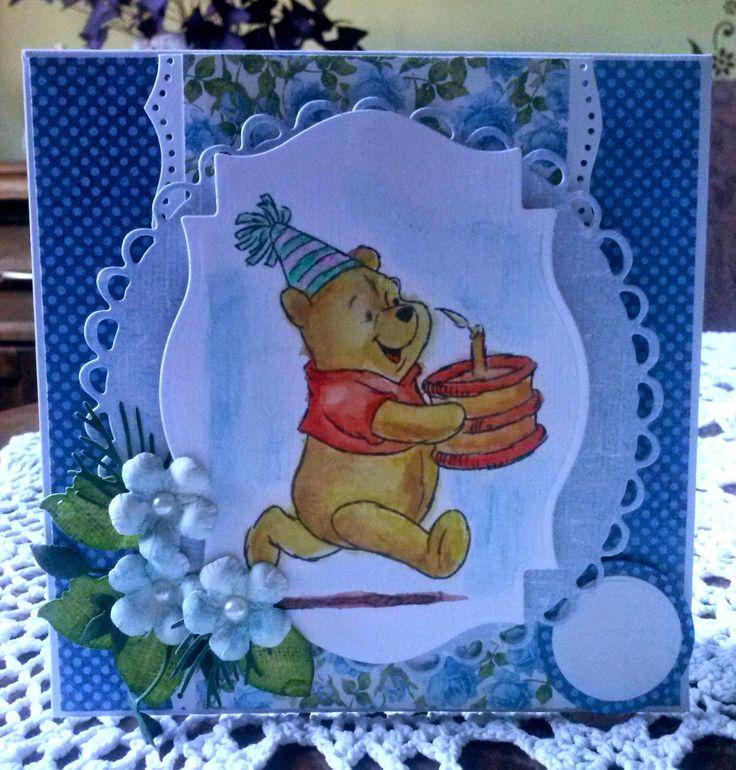 Kartka na urodziny dla chłopca...