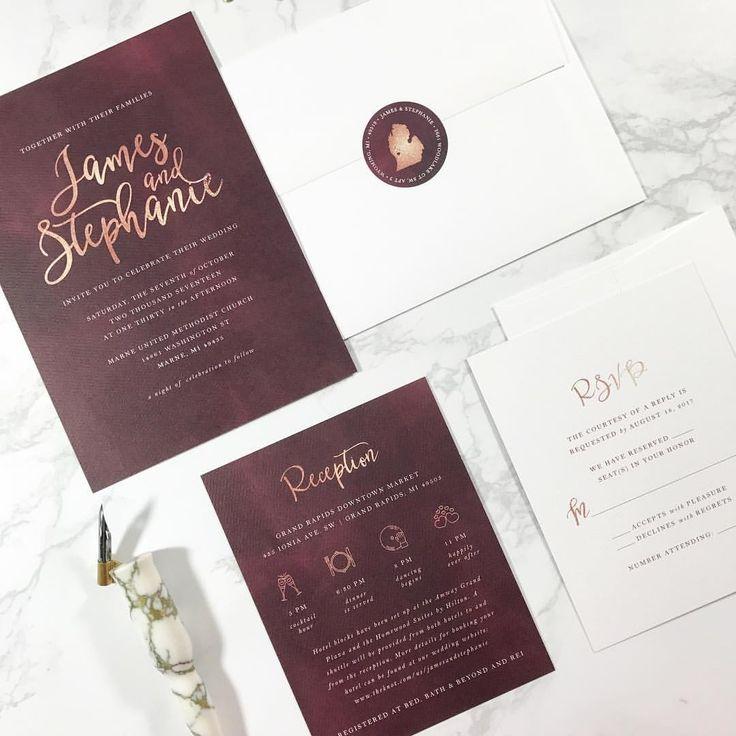 246 best Wedding & Invitation Design Inspiration images on ...