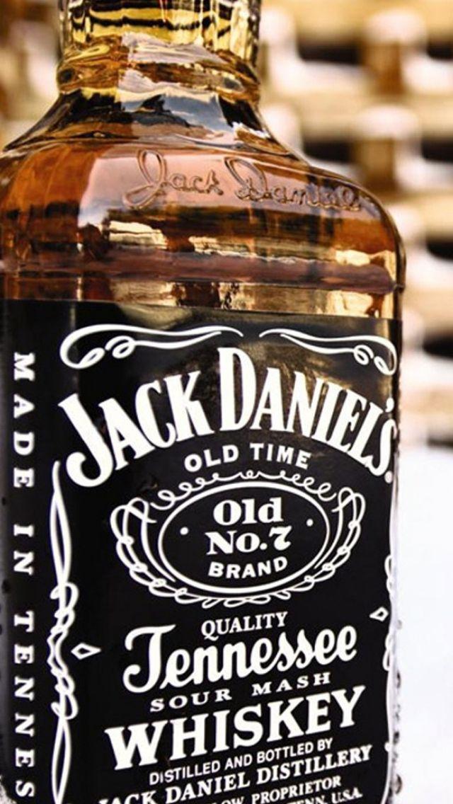640x1136 Wallpaper jack daniels, whiskey, bottle, alcohol