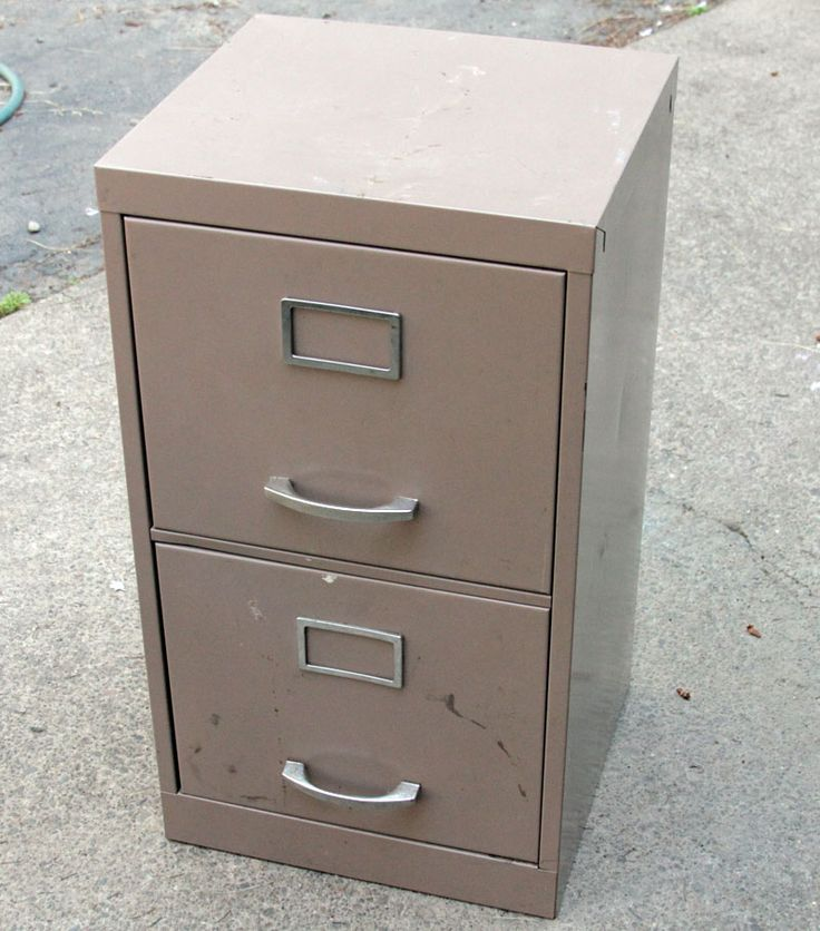 spray paint a file cabinet i just happen to have one that looks. Black Bedroom Furniture Sets. Home Design Ideas