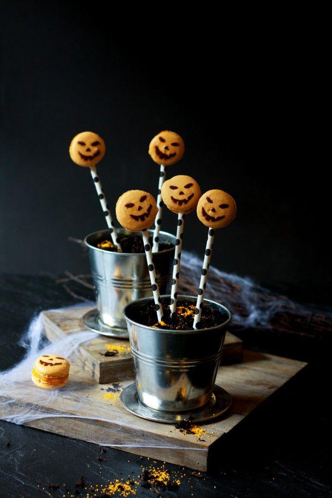 Kürbis-Macarons und Halloween-Tipps | Foodlovin'