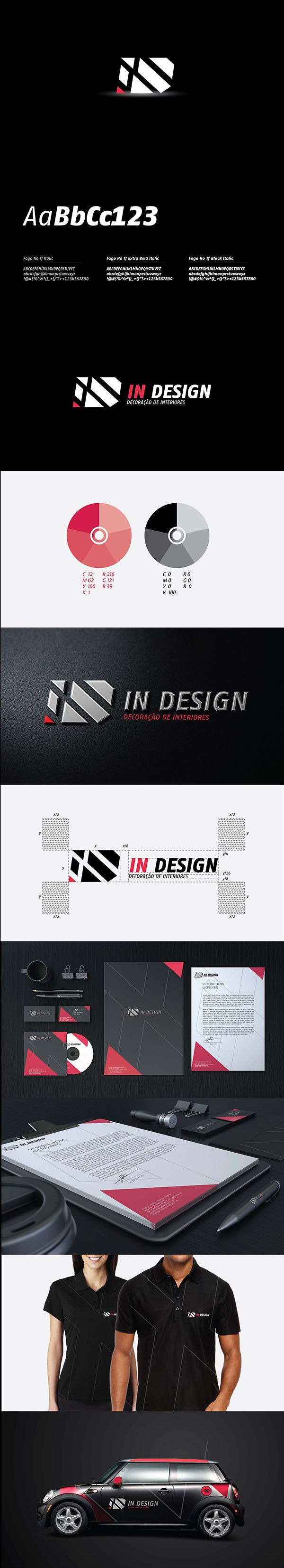 In Design is a young interiour decoration company from Mozambique. They asked NSV Design to develop their brand identity. The brand identity should portrait a dynamic and youthfull image and bold and highly contrasted colours should be incorporated.  This is the approved proposal.  Enjoy!  View entire project here: http://www.behance.net/gallery/In-Design-Corporate-Identity/13003037