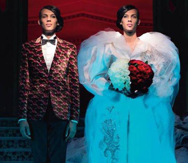 Stromae en robe de mariée pour Jean-Paul Gaultier - ELLE.be