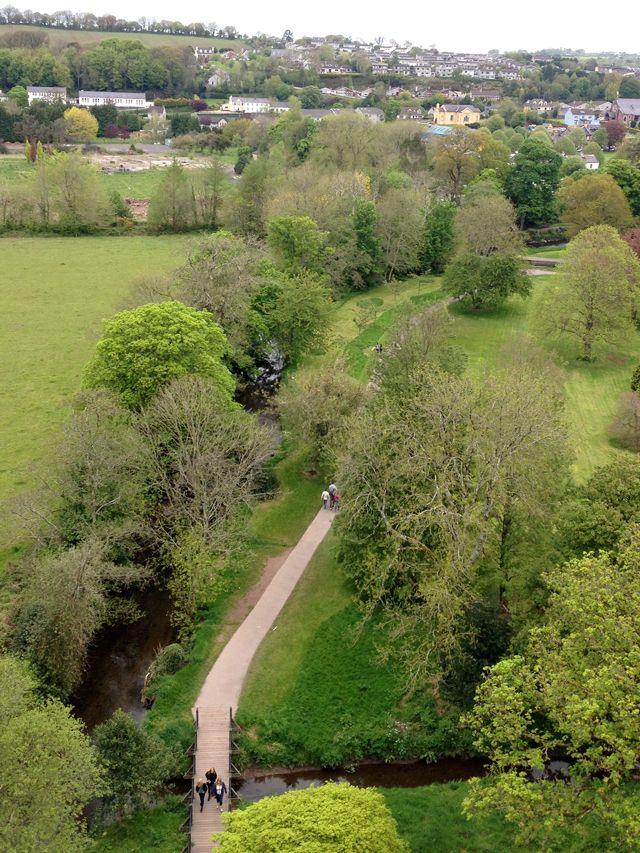 Blarney Castle Gardens, Condado de Cork, Irlanda