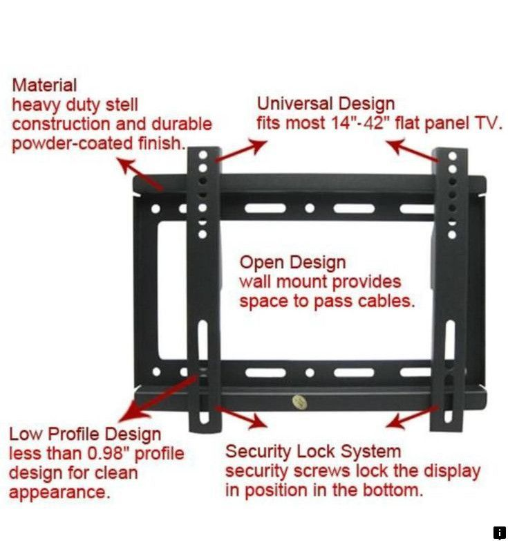 Read About Cheap Tv Brackets Check The Webpage For More Information Looking At Our Website Is Ti Tv Wall Mount Bracket Universal Tv Wall Mount Wall Mounted Tv