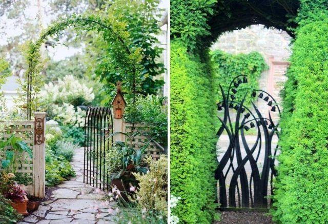 17 meilleures id es propos de portillon de jardin sur for Portillon de jardin en fer forge