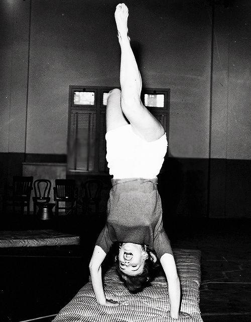 Monroe rare photo 1950