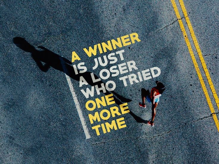 #10 - 30 days of creativity for good - A winner is just a loser who tried one more time.