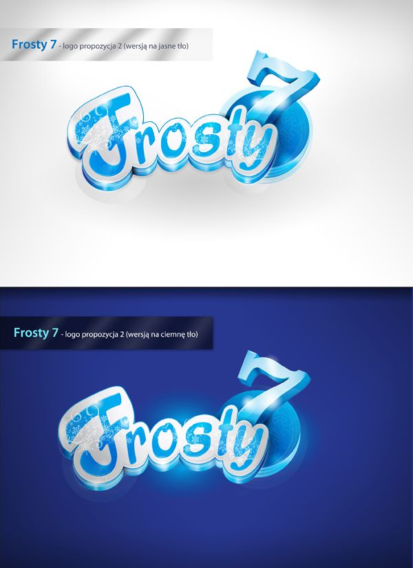 Frosty 7 - logo design   Agency: Creativehead.info, Artist: Hubert Paderski (webdesigner1921) Facebook profile: www.facebook.com/creativehead.info    Date realization work: 2014  -------------------------------- It is prohibited to copy or use in any form this project. Design protected by copyright. It is prohibited to copy pages, graphic, components and code.