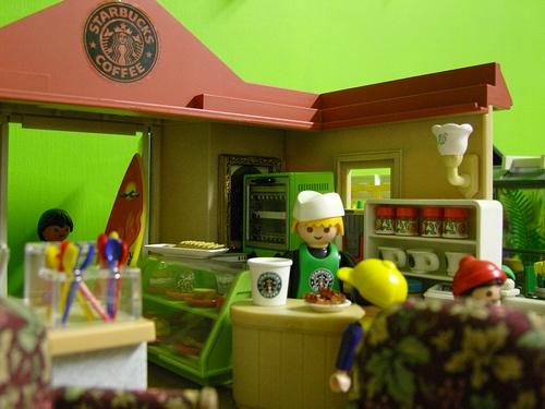 """Playmobil Starbucks"""