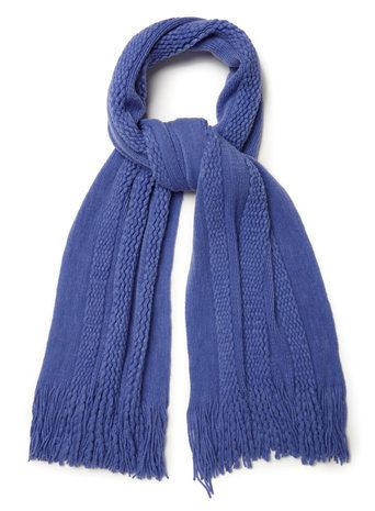 Blue Supersoft Scarf - BHS