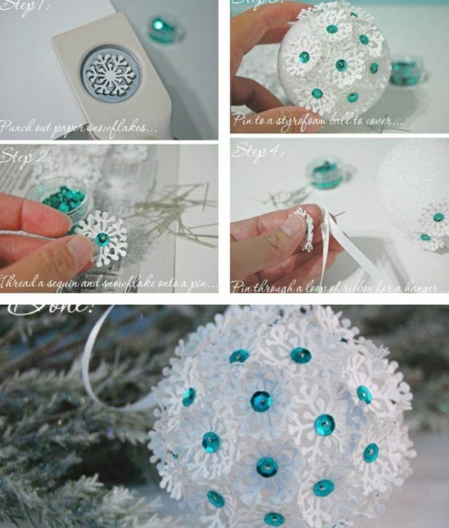 Weihnachtsbaumschmuck aus Papier - 32 kreative DIY-Ideen