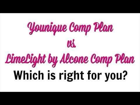 Younique Comp Plan vs LimeLight by Alcone Comp Plan (Younique vs LimeLight Compensation Plan) - YouTube