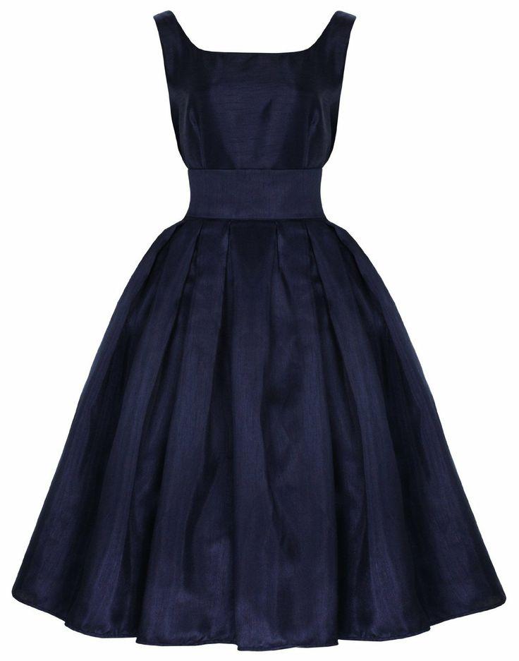 Lindy Bop 'Lana' Vintage Kleid 50er, Abendkleid Abschlussball Fifites Ball Gown:Amazon.de:Bekleidung